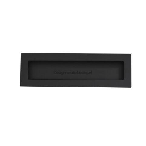 Infreesgreep 50x144x160mm mat zwart
